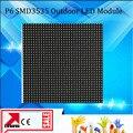 9 шт./лот P6 светодиодный дисплей панели 192*192 мм 1/8 сканирования Hub75 SMD3535 светодиодный дисплей модули p6 открытый