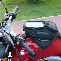 Big Screen Phone Bags Motorcycle Bag Waterproof Moto Magnetic Package Mochila Moto Pierna Bolsa Motocicleta Racing