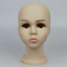 Mannequin Manikin-Heads Unbreakable Plastic Hat-Display for 46cm Baby/kid