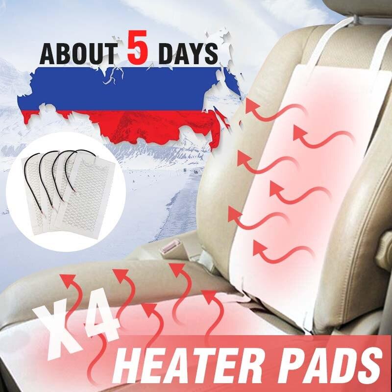 2 piezas 1 asiento 12 V de fibra de carbono Universal asiento calentador de alta/Baja ronda interruptor del calentador más caliente