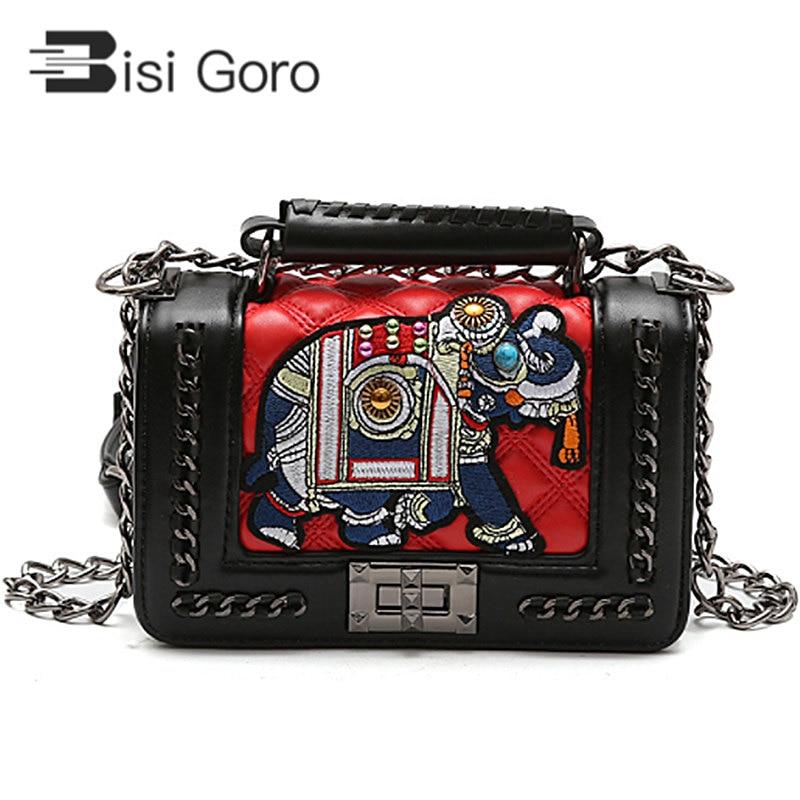 BISI GORO Women Bag Beach Handbags famous brand luxury handbag Designer Crossbody For