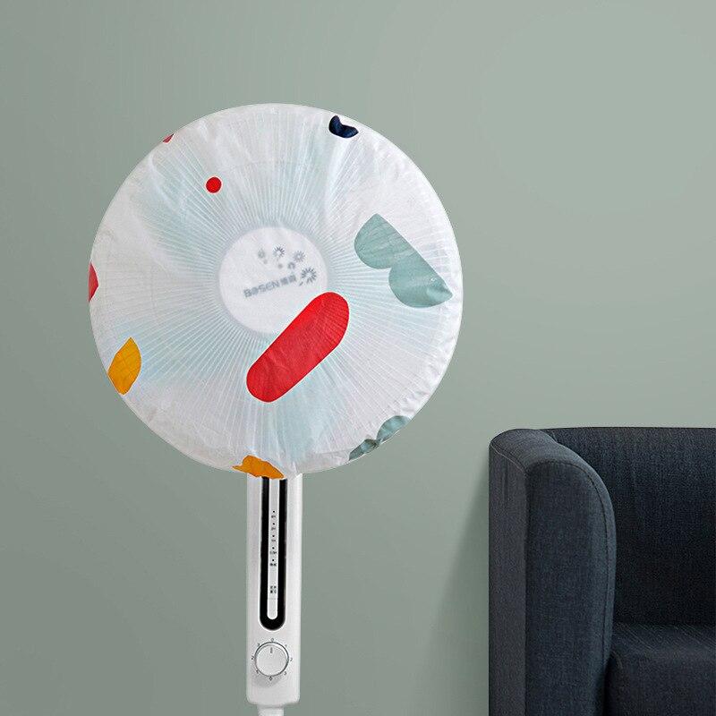 Luluhut Round Eletric Fan Dust Cover Diameter 45cm Nets Fan Cover Waterproof Dustproof Stand Fan Cover Fan Guard Storage Bag