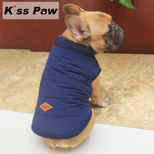 ФОТО thicken warm pet puppy pug clothes french bulldog dog clothes winter dog vest coat jacket shih tzu apparel clothing wholesale