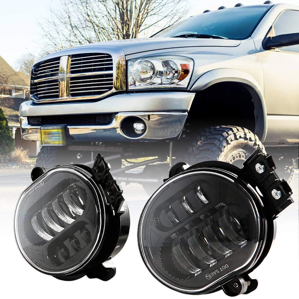 New Version LED Fog Lights Passing lights For Dodge Ram 1500 2500 3500 2002 2003 2004