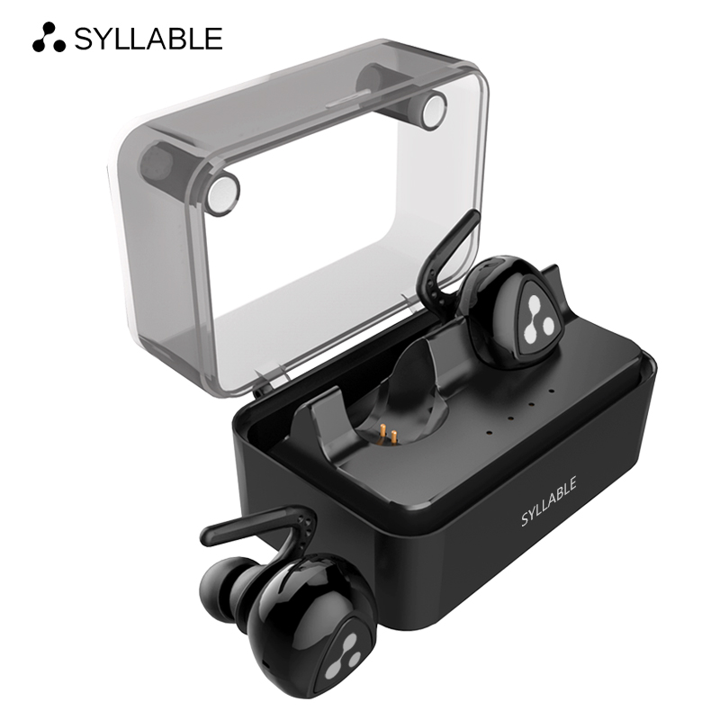 SYLLABLE D900MINI Bluetooth V4.1 Headset Fone de Ouvido Bluetooth Earphone Strong Bass for Iphone 7&7 Plus/Xiaomi/Samsung bluetooth earphone headphone for iphone samsung xiaomi fone de ouvido qkz qg8 bluetooth headset sport wireless hifi music stereo