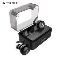 Big discount SYLLABLE D900MINI Bluetooth V4.1 Headset Fone de Ouvido Bluetooth Earphone Strong Bass for Iphone 7&7 Plus/Xiaomi/Samsung