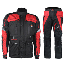 4 Mevsim Motocross Motosiklet Sürme Ceketler Motosiklet Yarış Windproof Su Geçirmez Elbise Jaqueta Çekin Ralli ceket Giyim