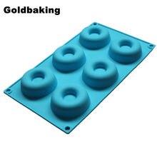 6 шт., силиконовые формы для выпечки тортов