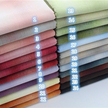 50*140cm Thick Soft Gradient Japanese Yarn Dyed Cotton Quilting Fabric Handmade patchwork Tissue Trimming Upholstery Sewing .
