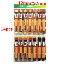 14 colors /Lot Furniture crayon wood repair wax Furniture Repair Wax Filler repairing pencil