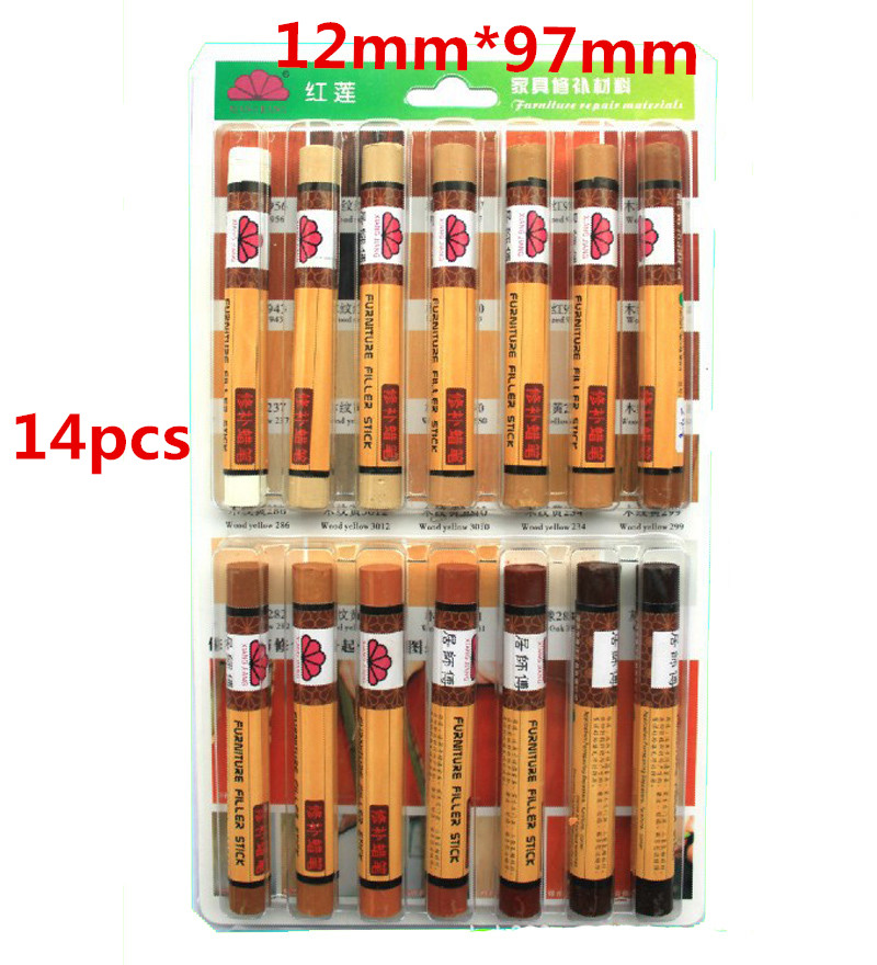 14 Colors Lot Legno Mobili Pastello Riparazione Mobili Cera