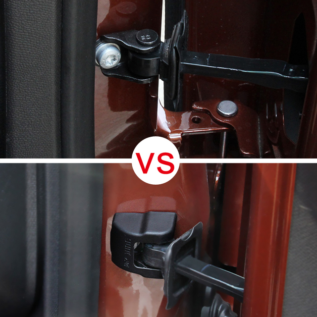Car Styling !! Accessories Plastic Interior Car Door Stop Rust Waterproof  Protector Cover 4pcs