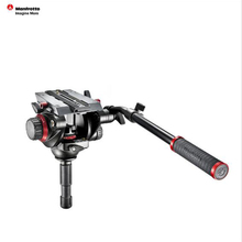 Manfrotto 504HD Aluminum Tripod Head Professional Hydraulic Head Stable Panoramic Video Head With Quick Release Plate