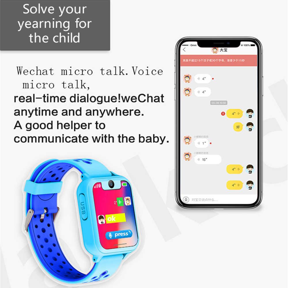 S6 Kids Smart watch LBS Smartwatches Baby Watch Children SOS Call Location Finder Locator Tracker Anti Lost Monitor Kids Gift.