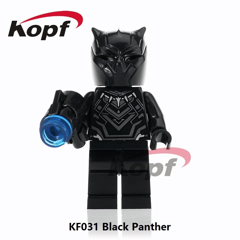 Single Sale Super Heroes Black Panther Crossbones Batman Red Hulk Bricks Collection Building Blocks Children Gift Toys KF031 super heroes single sale eleven stranger things mike will dustin building blocks children gift toys collection bricks kf409