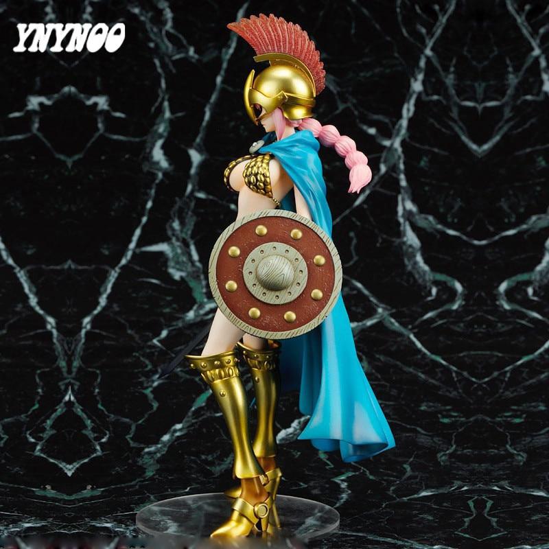 YNYNOO One Piece One Piece POP Sexy Gladiator Rebecca Action Figure,Sexy Gladiator Rebecca Action Figure,One PIece Figure Toys iclebo pop