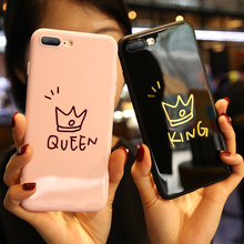 KISSCASE Luxury Lovely Case For iPhone 6 6S 7 8 Ultra Soft Silicone Plus X Shockproof Couple Cases Funda