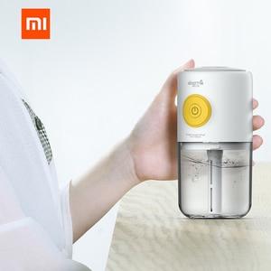 Image 2 - Orijinal xiaomi Mijia deerma Mini usb hava nemlendirici sessiz Hava Arındırıcı Renkli ışıkları ekleme aromaterapi araba ev için