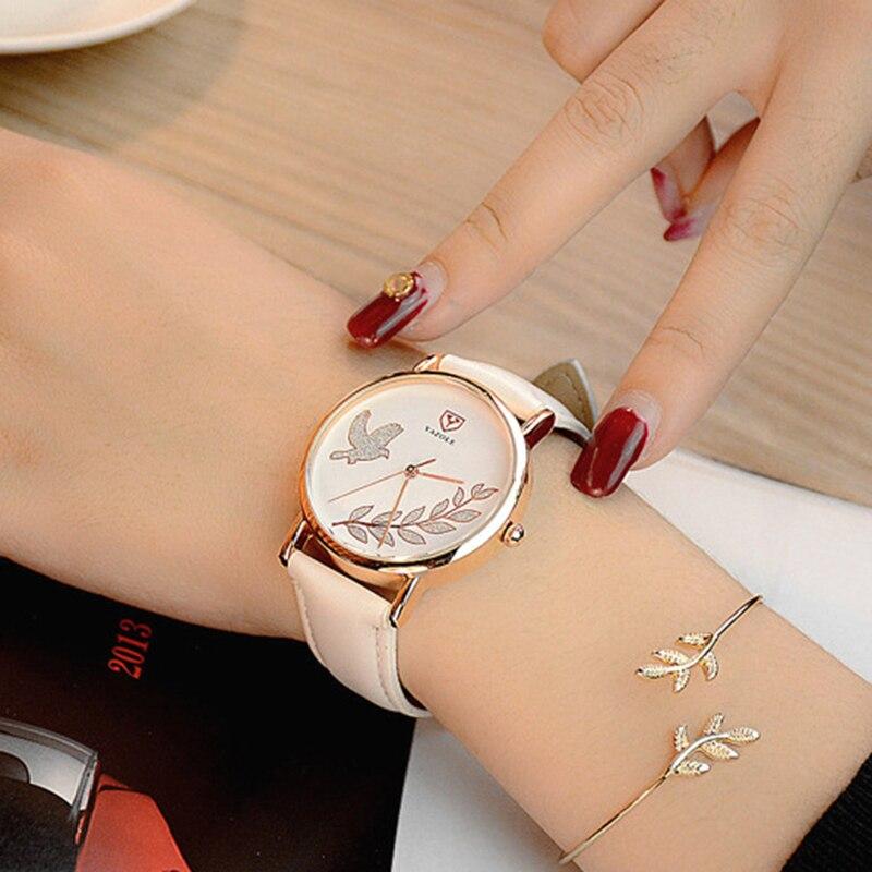 2018 Wrist Watch Women Ladies Brand Famous Female Wristwatch Clock Quartz Watch Girls Quartz-watch Montre Femme Relogio Feminino