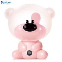 SGROW Lovely Panda Rabbit Dog Pig Cartoon Table Lamp Children Baby's Gift Indoor Lighting Fixtures to Protect Eyes Desk Lights