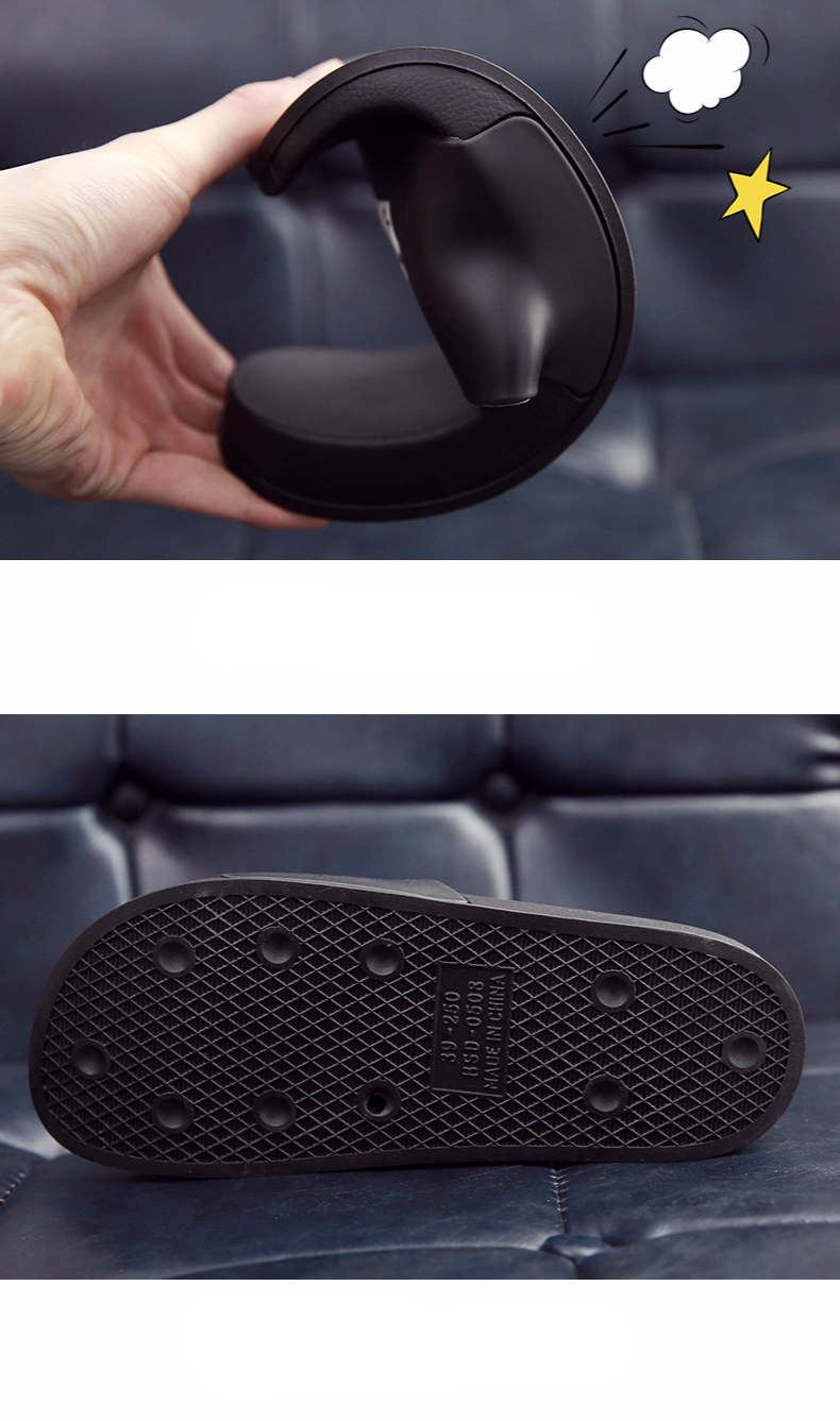 WHOHOLL Man Home Slippers Summer Sandals 2019 New Anti-skid Outside Wear Indoor Home Bathroom Bath Couple Cold Slippers Male 10