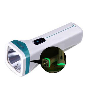 YAGE 3842 Lampe de poche LED Lampe de nuit à lumière tactile torche lanterne Rechargeable Linterna avec Lampe de mise au point de batterie