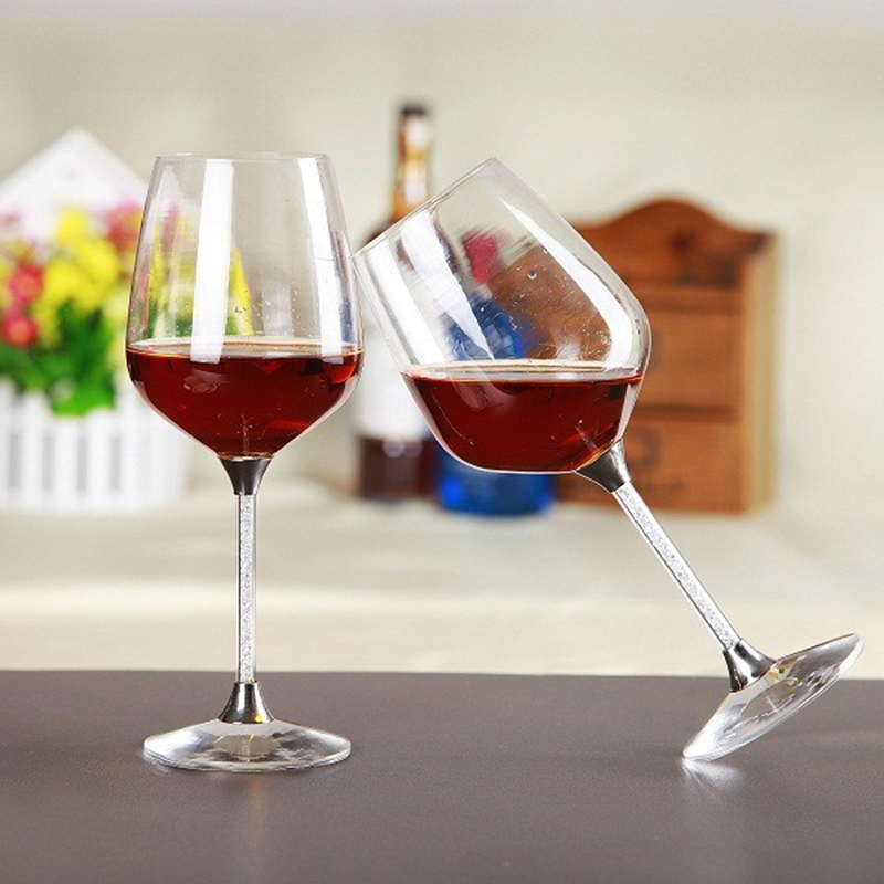 customize wholesale price 2 pieces set wine cup handmade drinking glasses free shipping with