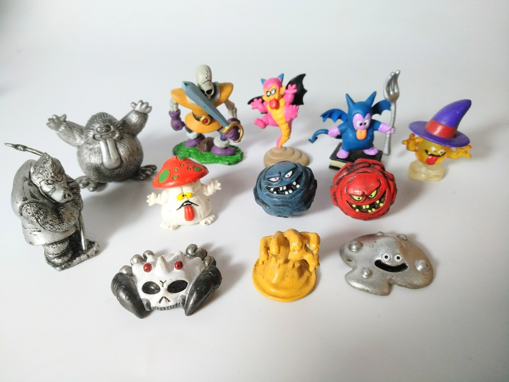 small pvc figure Simulation Toy, hand, model, doll, dragon Quest, antique old goods out of print 12pcs/set 5pcs set simulation model toy scene decoration cowboy pvc figure rare out of print