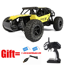 2.4G 1:16 High Speed SUV CAR Electric RC Car With 2PCS Battery 4CH Hummer Rock Crawlers Car Off-Road Vehicles Model Toy RC Car s