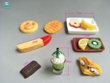 Mini Simuleringsmat Doll House Tillbehör Till Barbie Och Kelly Möbler Monster Hight Dolls