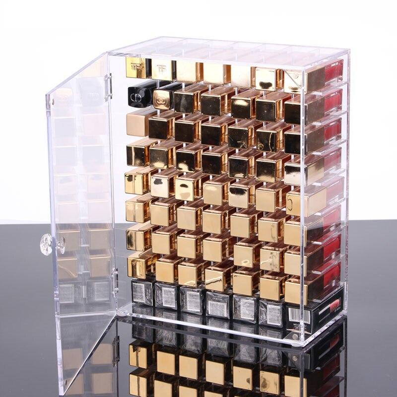 Acrylic Lipstick Storage Box, Cosmetic Lip Glaze Display Box, Jewelry Dustproof Multi-box, Jewelry Storage Box