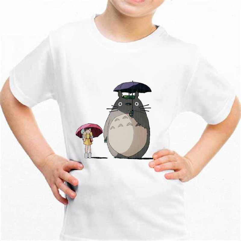 חדש Totoro b035 ממלכת מצחיק חולצה ילדי תינוק קיץ חמוד בגדי בני בנות חולצות Totoro T חולצה