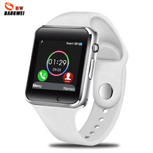 LIGE Smart Watch Women SIM TF Push Message Camera Bluetooth Connectivity Android Phone Sports pedometer Digital smart watch(China)
