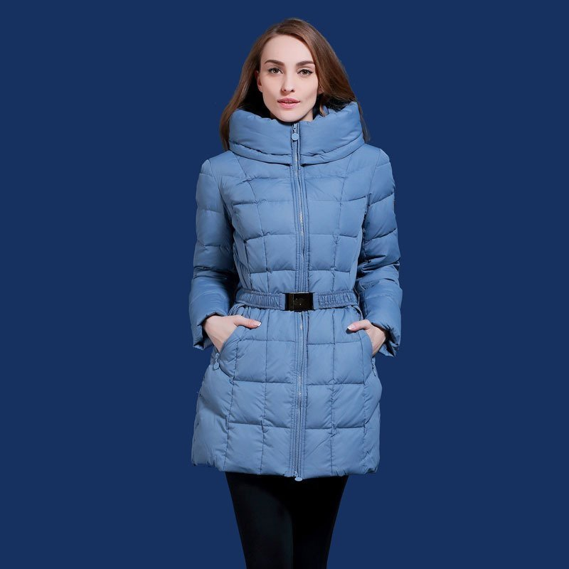 2016 autumn and winter medium-long with a hood thickening down coat for women winter bulkness thermal slim outerwear MSD-Q574 autumn and winter coat for women a new autumn winter coat for women