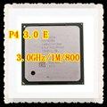 P4 3.0 E Original cpu de Desktop para Intel Pentium 4 3.0e 1 MB 3.00 GHZ 800 MHz 3 GHZ Socket 478 Desktop Processador Livre grátis