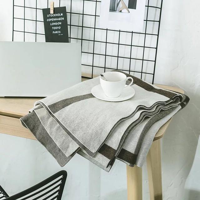 Merino Wool Throw Blanket