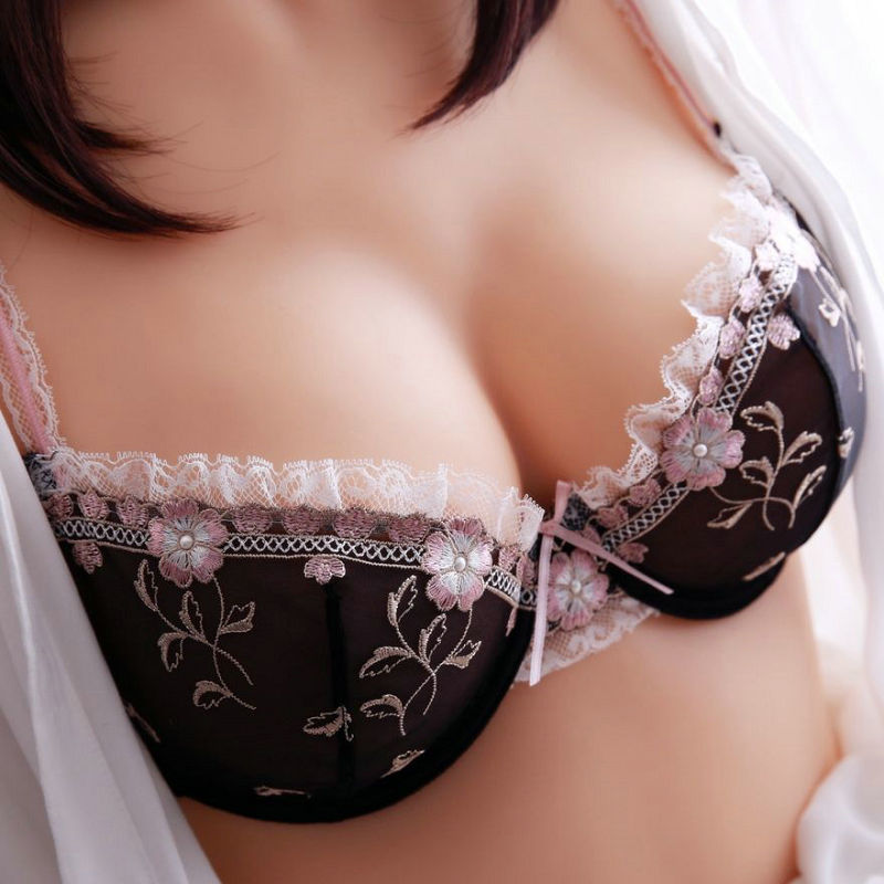 Bra   &   Brief     Sets   Free shipping Exquisite ultrathin hot sexy lace embroidery transparent underwear   bra     set   women   bra     sets