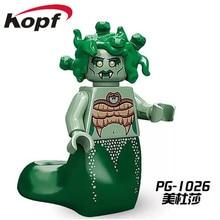 Single Sale Super Heroes Medusa Gingerbread Man Inhumans Royal Family Bricks Building Blocks Collection Toys for