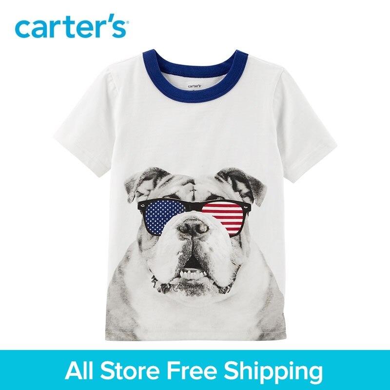 Carter 1-Pièce Quatrième De Juillet de Bouledogue Tee bébé enfants enfants garçon d'été vêtements 225H539/243H777/ 263H773