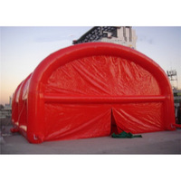 Red inflatable booth inflatable tent inflatable log cabin tent house tent