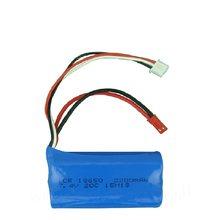 7.4 v 2200 mah li-po bateria lipo para 20C DH9053 9101 f45 9118 partes Helicóptero do rc 18650 Brinquedo bateria