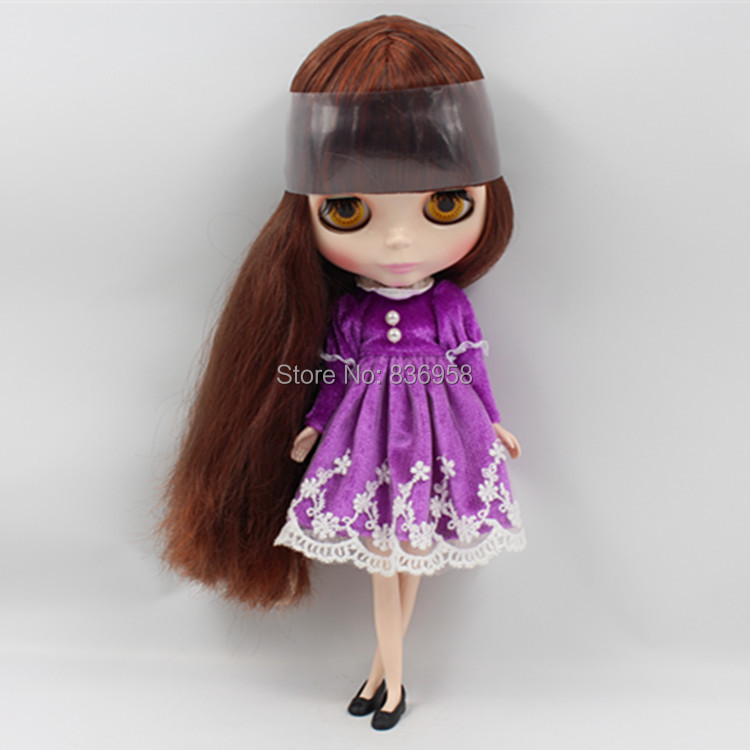 Nude Doll For Series No.222232 BROWN HAIR nude doll for series no 2237 bronze hair
