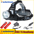 Led Headlamp  4000Lm CREE T6 Head Lamp Light Headlight Flashlight Linterna Fishing Camping Hiking Cycling Headlamp