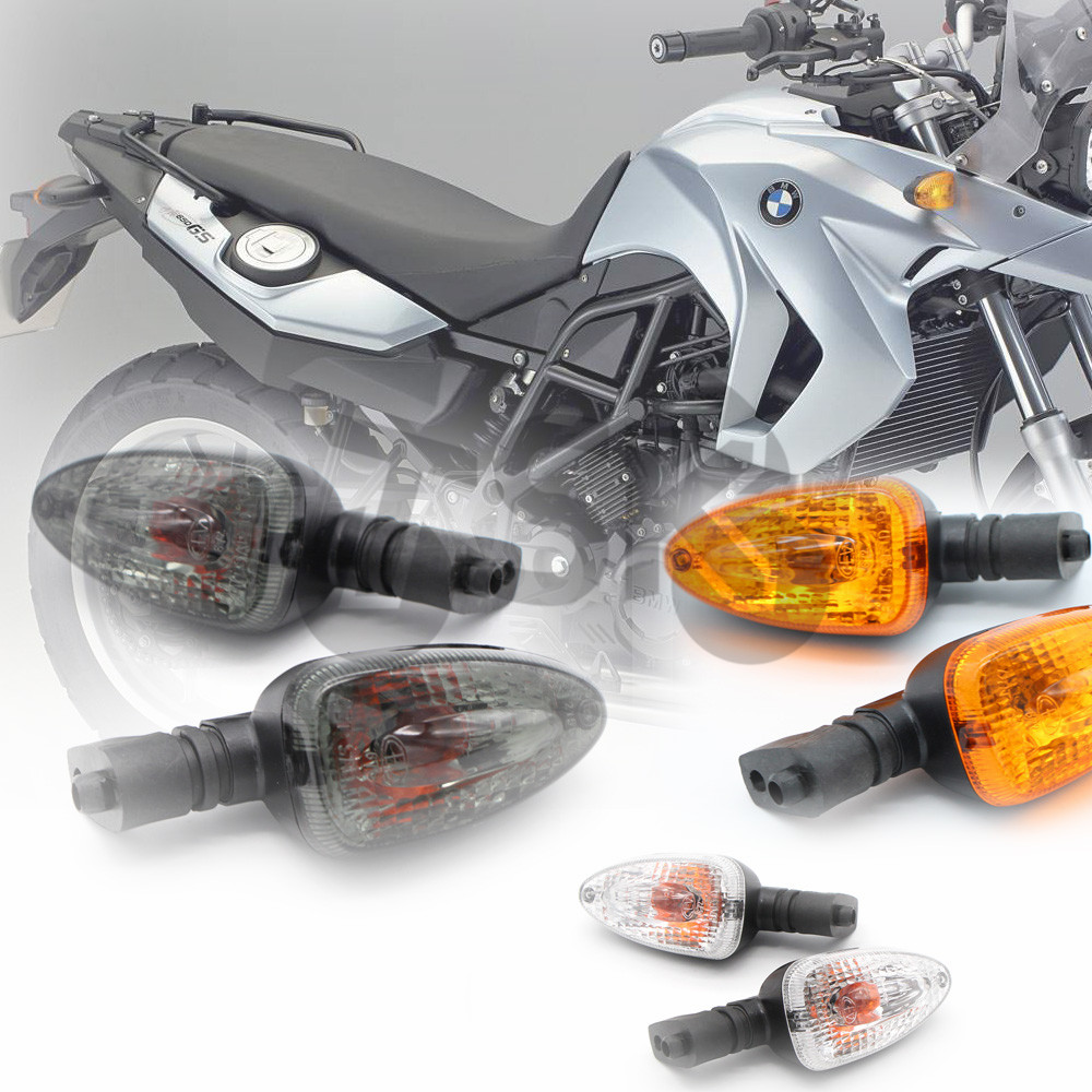 High quality Motorcycle Clear Turn Signal Indicator Light Lamp Fit For BMW F650GS F800ST K1300S R1200R G450X R1200GS K1200R