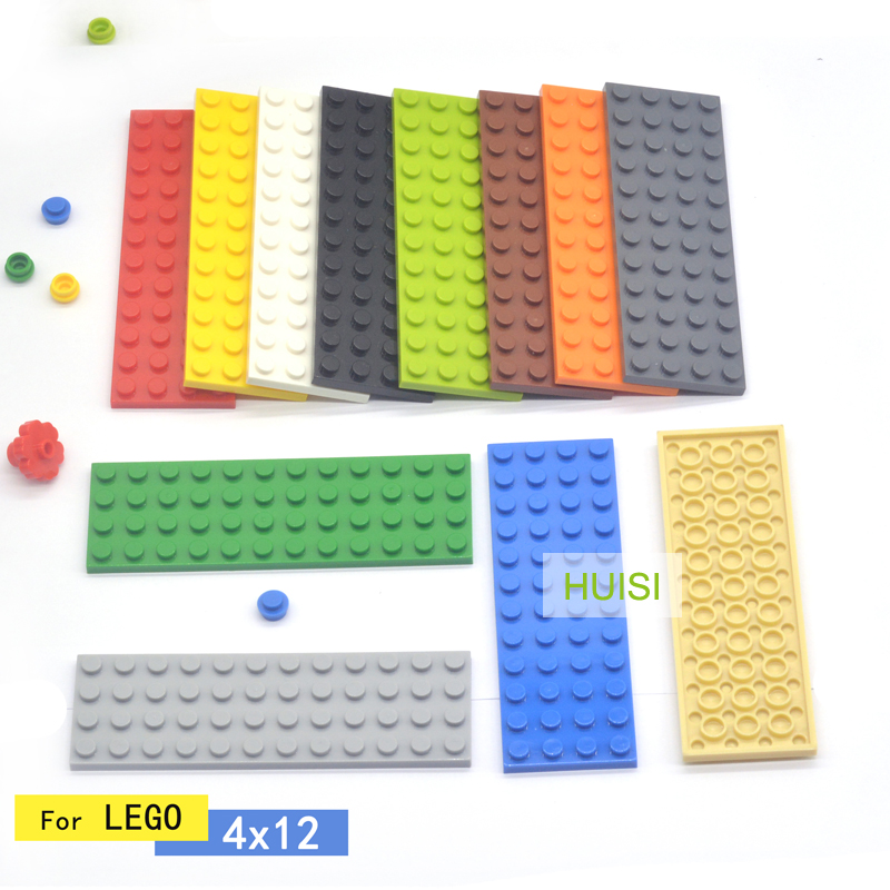 LEGO Lot of 2 Tan 4x12 Plates