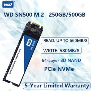 WD Blue M.2 2280 250GB 500G SSD Internal Solid State Drive Disk SATA 3.0 6Gb/s 2.5