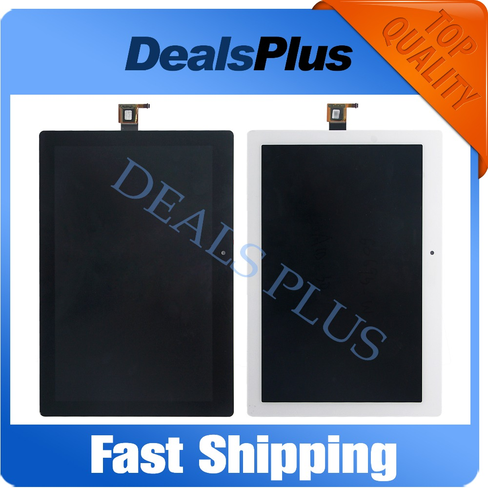 Replacement New LCD Display Touch Screen Assembly For Lenovo Tab 2 A10-30 YT3-X30 X30F TB2-X30F X30 A6500 Black Free Shipping 01221701 drum unit compatible oki use for printer b930 1pcs lot