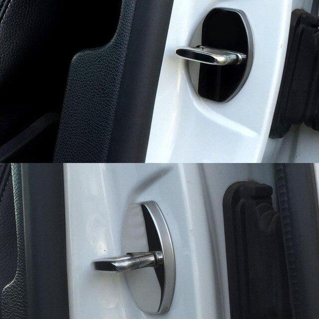 For V Olkswagen New Jetta Bora Santana Door Lock Cover Interior Trim
