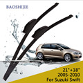 "Wiper blades for Suzuki Swift (2005-2010) 21""+18"" fit standard J hook wiper arms"