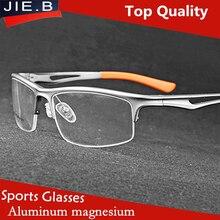 Men's Sports Glasses Optical Basketball Goggle Eyeglasses Frame Top Quality Football Spectacle Myopia Eyewear oculos de grau